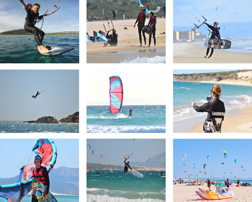 Discover our gallery with all the pictures and photos from our kitesurfing lessons in Tarifa.