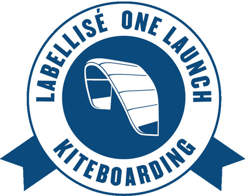 One launch kiteboarding partner of the kite school Addict in Tarifa.