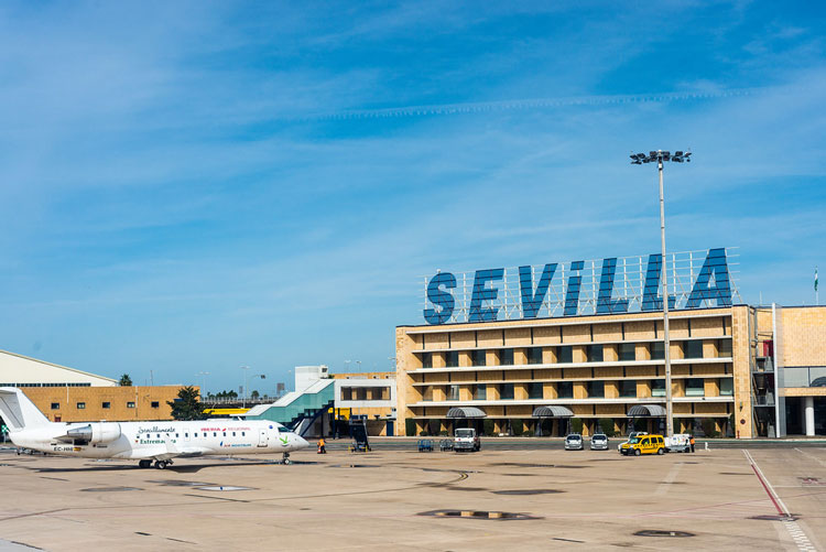 One of the closest airport to Tarifa is the one of Sevilla or Malaga.