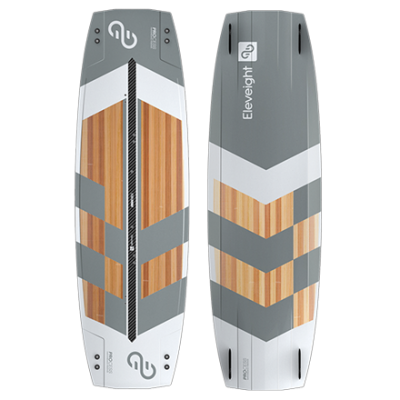 Eleveight process kiteboard are great to learn kiteboarding.