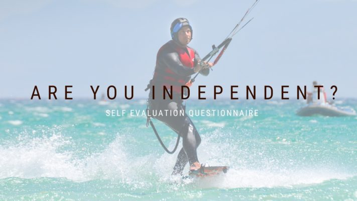 Become an independent kiteboarder, practice alone and stop taking kitesurfing lessons.