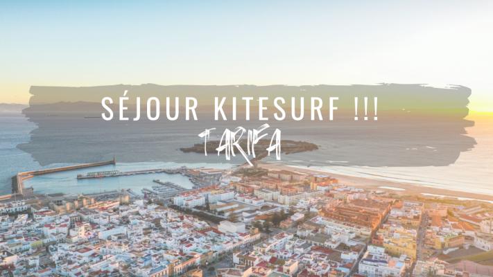 Venez profiter d'un séjour ou de vacances kitesurf à Tarifa.